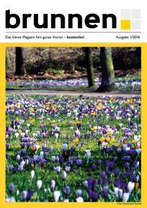 Cover Frühlingsausgabe 2016