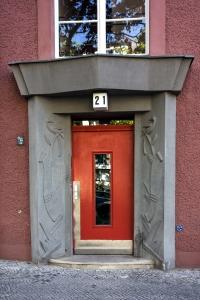 Gartenstadt Atlantic Haustür