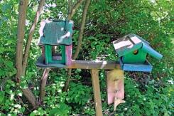 Vogelhäuschen am Vinetaplatz