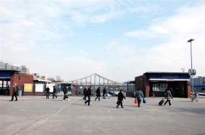 2012 sah es am Bahnhof Gesundbrunnen noch so aus.
