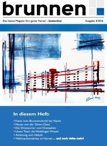 Das Cover der aktuelle Ausgabe von brunnen.
