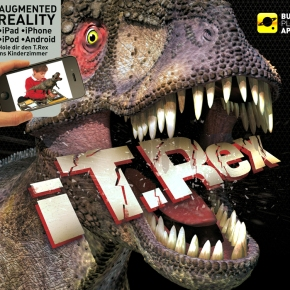 Buch mit App: Dinosaurier zum Lebenerwecken