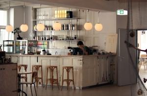 Die Bar im Ahoy!Berlin in der Wattstraße.