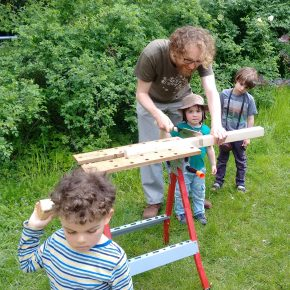 Elstergarten: Wie Mieter ihren Hinterhofbegrünen