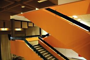 Orange Schule: Ambitionierter Bau der1970er