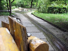 Ein Park mit vielenExtras