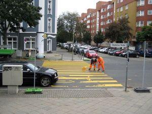 Zebrastreifen Usedomer Straße