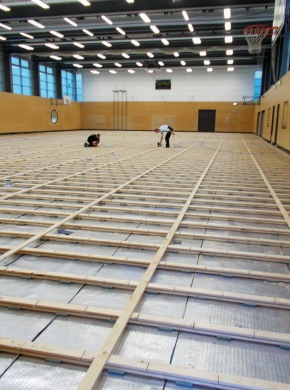 Sporthallen: Sanierung dauert