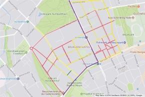 Putzplan für dieStraßen