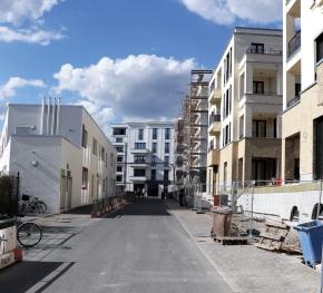 Baustelle Brunnenviertel