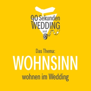 """Kurzfilmwettbewerb """"90 SekundenWedding"""""""