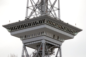 Das Funkturm-Restaurant. Foto: Jakob Hensel