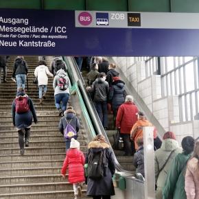 Von Gesundbrunnen nach: MesseICC/Nord
