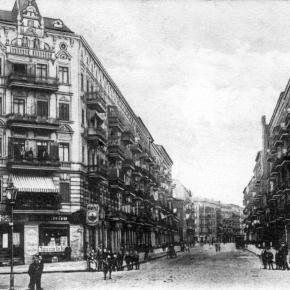 Gestern und heute: Ecke Gleim- undGraunstraße