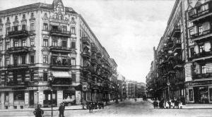 Graunstraße Ecke Gleimstraße, 1905. Foto: Sammlung Ralf Schmiedecke