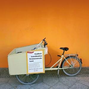 Das parkende Rad. Foto: Stefanie Ostertag