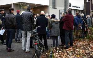 Andacht vor Schrippenkirche