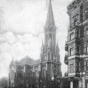 Gestern und heute: die Himmelfahrtkirche